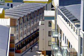 New England Quarter, Brighton. Architects