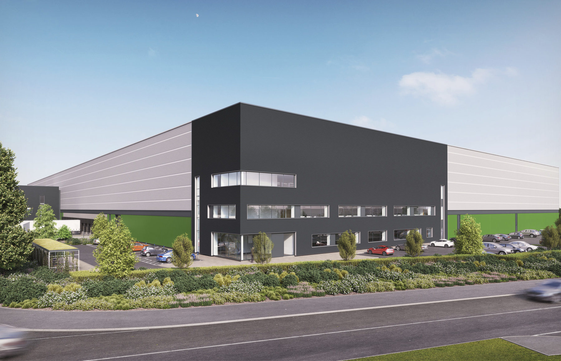 Chetwoods Sustainable Logistics Warehouse Baytree Dunstable