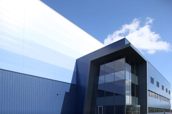 Magnitude Magna Park Milton Keynes Chetwoods Architects - David Morris Photography