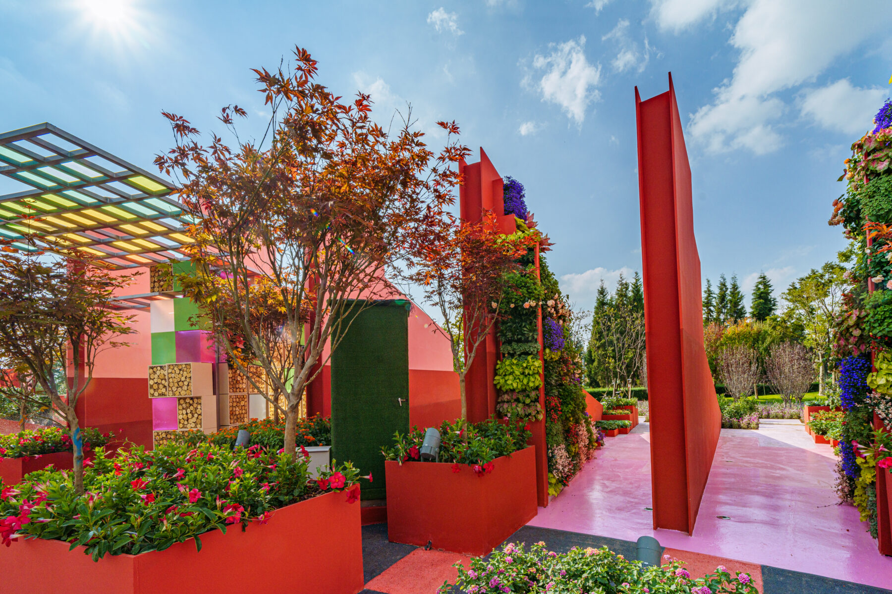 Chetwoods Future City Garden : Nature and City